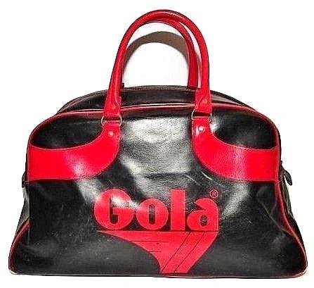 late 70's true vintage gola sports holdall bag