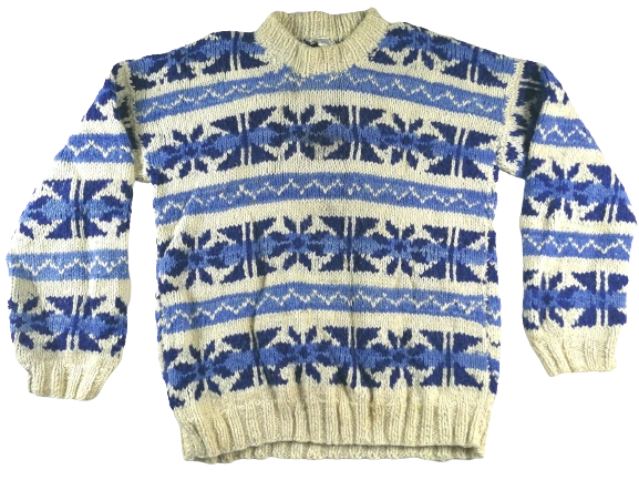 Original 70's super chunky knit UK XL