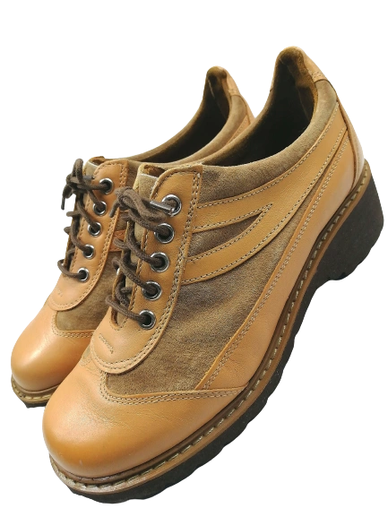 1977 true vintage Northern soul women's wedge shoes UK 5