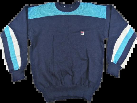 UK M-L true vintage fila ski JUMPER 1984