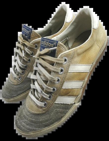 Size 5 original vintage adidas naza trainers 1982