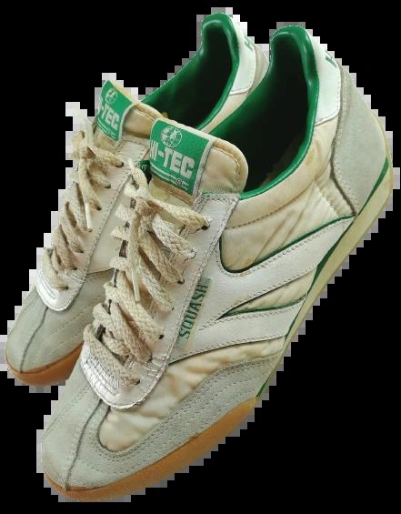 True vintage 1981 mark 1 hi tec squash sneakers UK 8