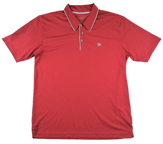 UK M Vintage dunlop polo shirt