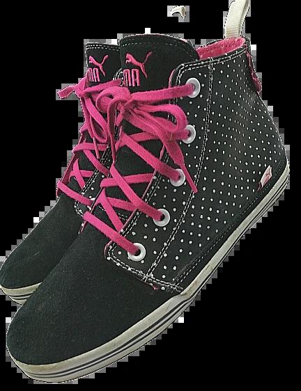 2009 vintage puma sneakers UK 8