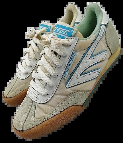 Size 3 true vintage hi tec lady squash 1987
