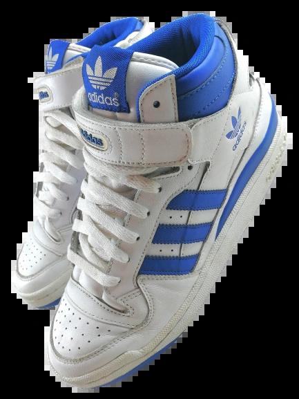 Size 8 oldskool adidas hightops vintage 2010