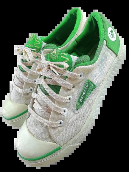 Vintage dunlop green flash, UK 5