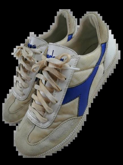 vintage diadora trainers size uk7