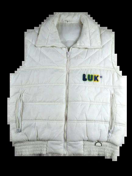 Vintage gilet body warmer Size UK M-L