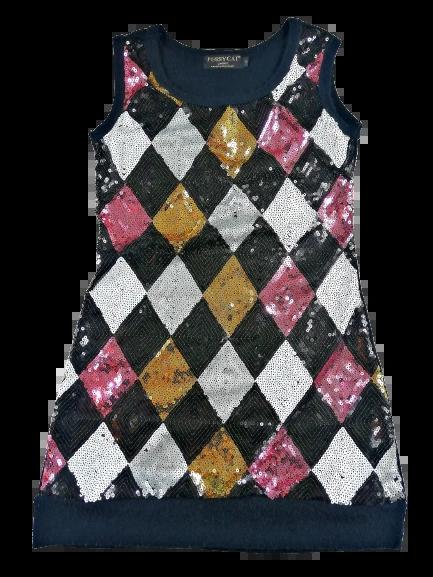 glitter bling dress size 10 uks