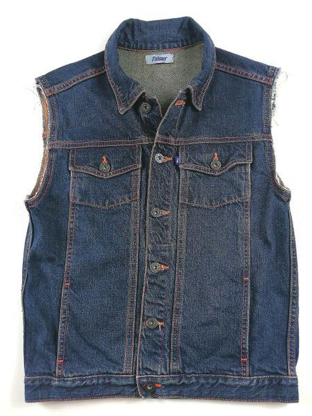 quality falmer denim waist coat size UK S