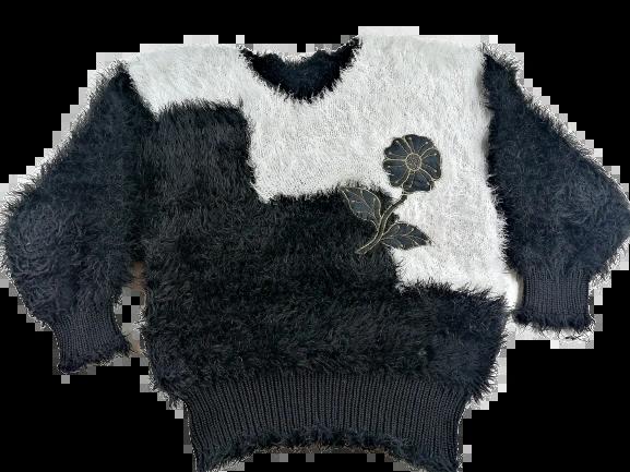 original 80's vintage mowhair jumper size medium