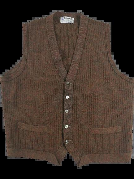 True vintage Northern soul pure wool waistcoat UK M