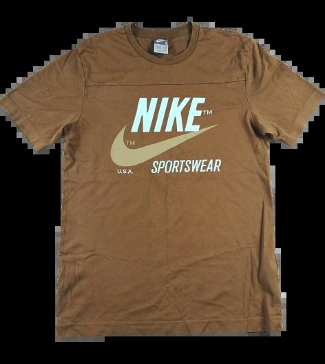 Original vintage nike sportswear t-shirt brown UK S