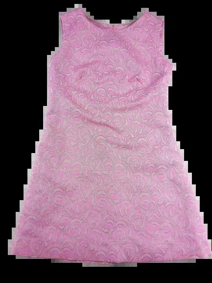 UK 10 Truly vintage Northern soul dress pink