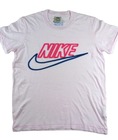 Limited edition Oldskool pink t-shirt UK small
