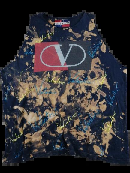 UK L Original Valentino sleeveless vest top