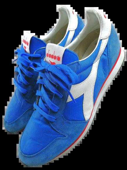 Size 9 vintage trainers diadora blue 2007