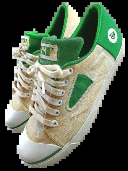 Size 9 true vintage Dunlop green flash 1994