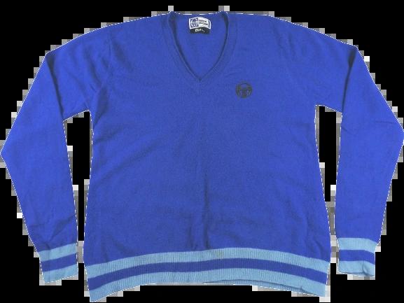 UK M vintage Sergio tacchini pure wool jumper