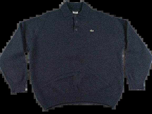 UK L True vintage 100% wool lacoste sweatshirt 1994