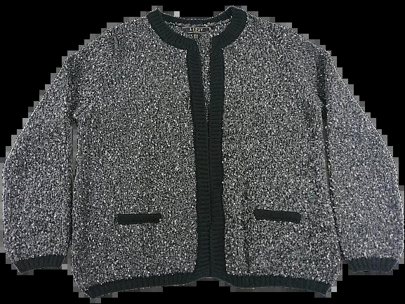 UK L Womens wool blazer cardigan