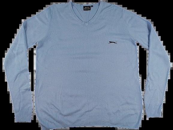 UK L True vintage slazenger sweatshirt 1980's