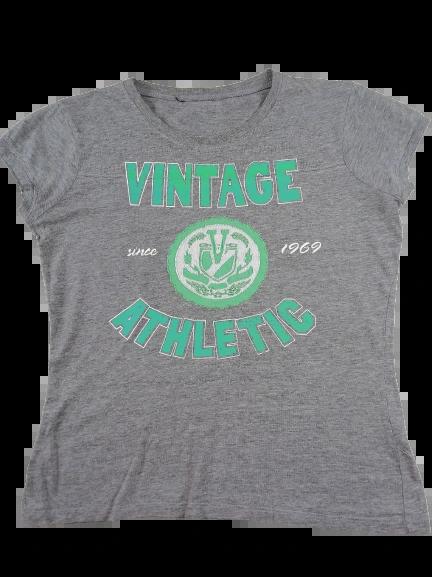 UK M womens Vintage Grey t-shirt