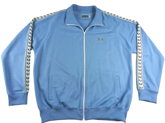 UK XL true vintage fred perry tracktop 1990's