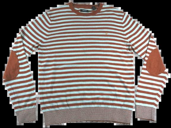 UK M - L Farah stripe vintage jumper