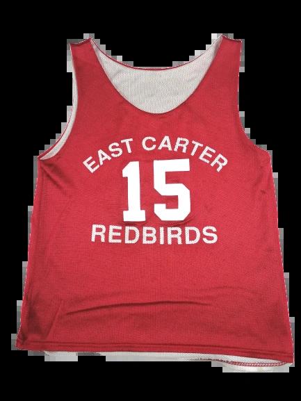 UK S Red basketball vest oldskool vintage