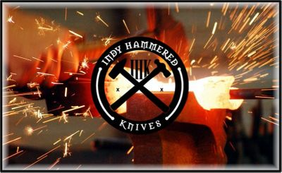 Indy Hammered Knives