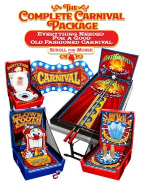 Game Package, Carnival, Party, Event, Fun