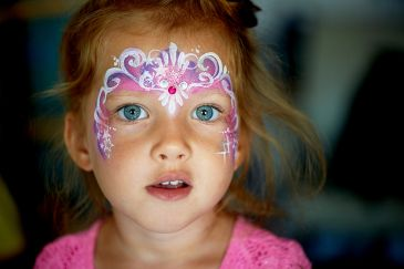 Face painting, Princess crown, Party, Birthday, Wedding