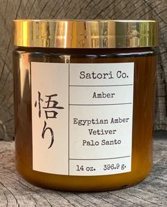 Egyptian Amber, Vetiver & Palo Santo
