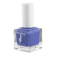 ADRIANNE K, NONTOXIC 10 FREE SUMMER NAIL POLISH BLUE/PURPLE, PURBLUE