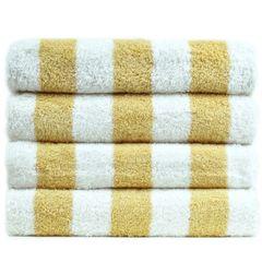 Luxury Hotel & Spa Towel 100% Genuine Turkish Cotton Pool Beach Towels - Salmon - Cabana - Set of 2