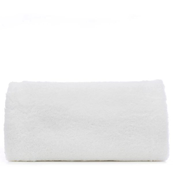 Luxury Hotel & Spa Towel 100% Genuine Turkish Cotton Oversized Bath Sheet - White - Pelican Hill - Set of 1