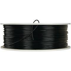 VERBATIM 55250 1.75mm PLA 3D Printer Filament, 1kg Reel (Black)