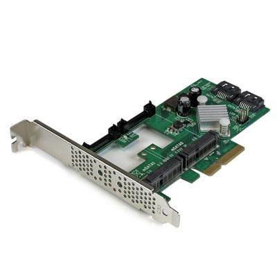 2 Port PCIe SATA Card w mSATA