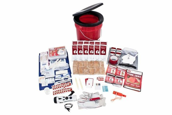 2 Person Guardian Bucket Survival Kit