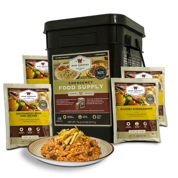 Prepper Pack - 52 Serving