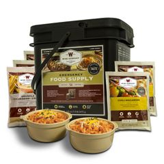 56 Serving Breakfast and Entree Grab and Go Food Kit