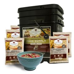 120 Serving Breakfast Only Grab and Go Bucket