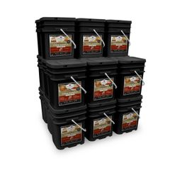 2880 Serving Package - 480 lbs- Includes: 12 - 120 Serving Entree Buckets and 12 - 120 Serving Breakfast Buckets