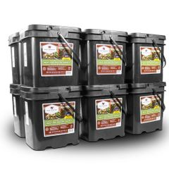 720 Serving Meat Package Includes: 12 Freeze Dried Meat Buckets