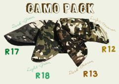 Camo Pack (Pack of 4)
