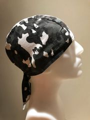 Dark-Green Camouflage Do-Rag