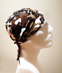 Light-Brown Camouflage Do-Rag