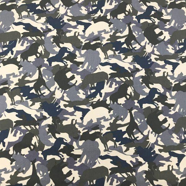 Jungle Animals (Blue) Bandana